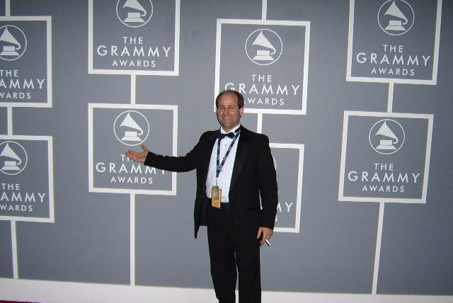Jeff Griffith at The Grammys